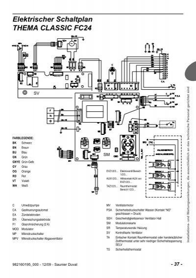 Elektrischer Schaltplan T