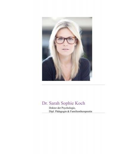 Dr Sarah Sophie Koch