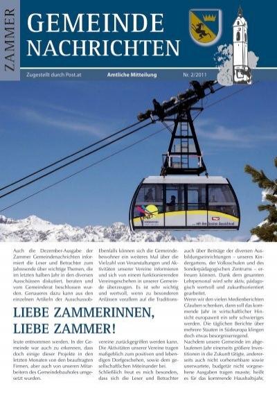 Kennenlernen - Thema auf zarell.com
