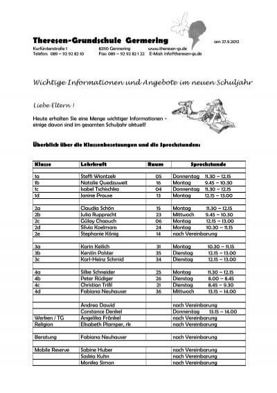 Theresen Grundschule Germering 30 09 2012 theresen grundschule