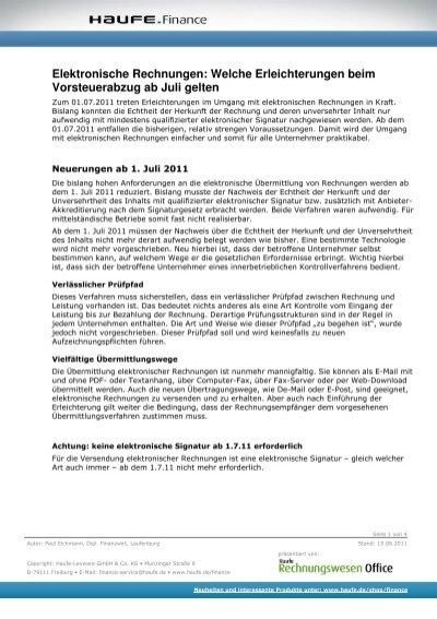 Elektronische Rechnungen Steuerberaterin Anja Konrad