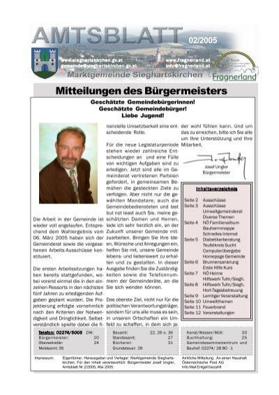 Kostenlose Fickkontakte Sieghartskirchen Wagna