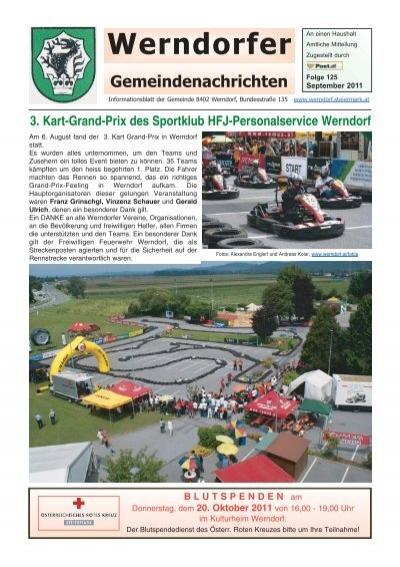 Frhlings Erwachen - Gemeinde Werndorf