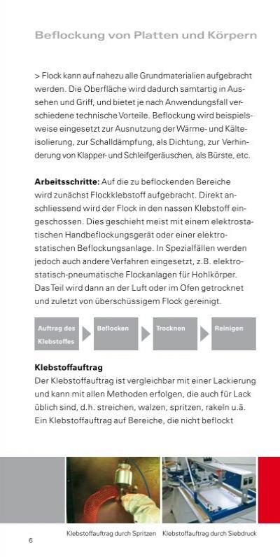Beflockung Von Platten Und Körpern SwissFlock - Fliesen beflocken