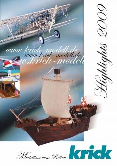 Krick Constructo Segelschiff J.S Länge 580 mm Elcano 23568 Nr Holzmodell