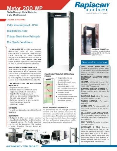 metor 200 wp rh yumpu com Bounty Hunter Metal Detectors Garrett Metal Detectors Manuals