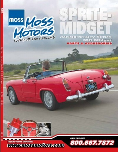 Austin - Healey Sprite & MG Midget • SPM - Loco Classic Car Parts