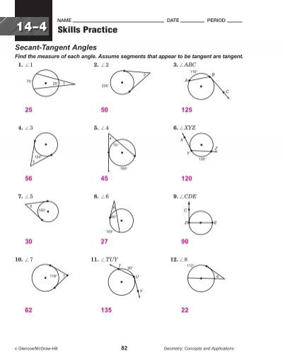 143 Secant Angles Find