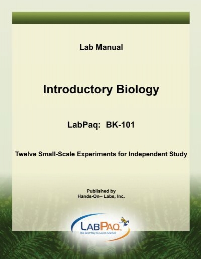 labpaq biology Labpaq scientific method essay 1164 words | 5 pages the scientific method portland community college staff version 42-0207-00-01 lab report assistant this document is not meant to be a substitute for a formal laboratory report the lab report assistant is simply a summary of the experiment's questions, diagrams if needed, and data tables.