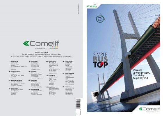 Comelit 2 Wire System The Ability To Go Beyond