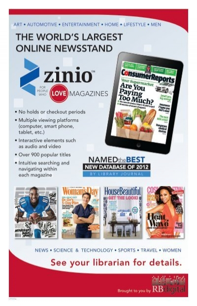 THE WORLD'S LARGEST ONLINE NEWSSTAND