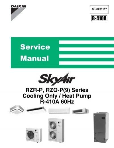 skyair service manual p 9 series heat pump daikin ac rh yumpu com daikin vrv 3 service manual download daikin vrv 3 operation manual