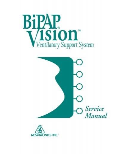 respironics bipap vision service manual static content rh yumpu com Respironics BiPAP Circuit respironics bipap vision service manual