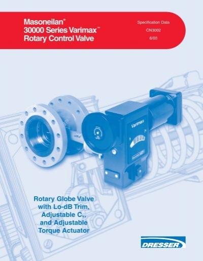 Masoneilan 30000 series varimax rotary control valve darvico publicscrutiny Gallery