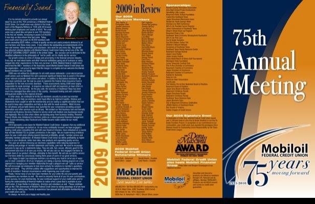 Mobiloil 2009 In Review Sponsorships Mobiloil Federal Credit Union