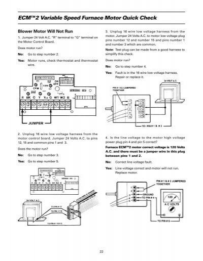 Ecm tm 2 variable speed for Variable speed ecm motor