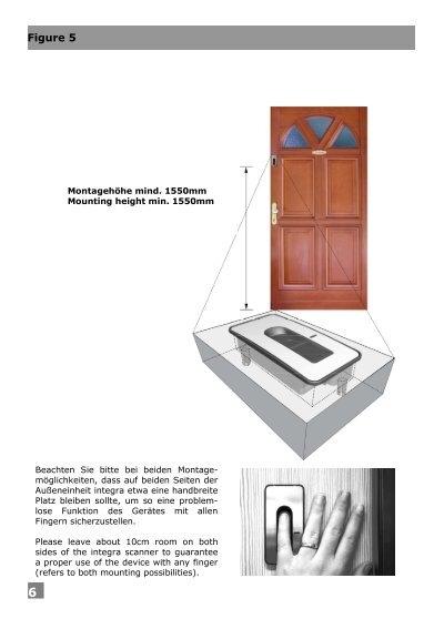 Figure 5 6 Montagehöhe m