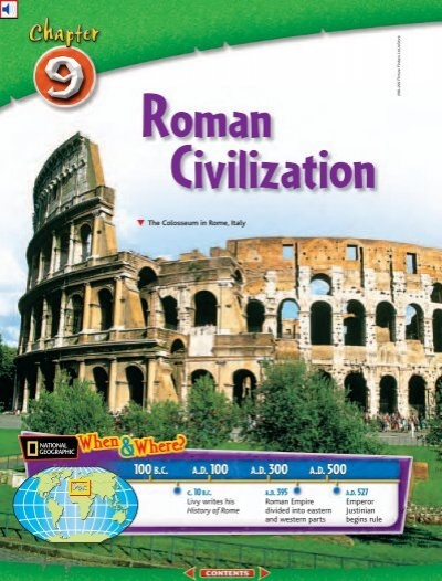 the historic contributions of the roman civilization Greatest ancient roman contribution(s) but, rich romans during the empire's period, at least in western europe, did generally have a three-course meal.