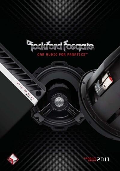 Rockford Fosgate r1-2x10 double caisson de basses Rockford Fosgate 2x 25 CM 10 In