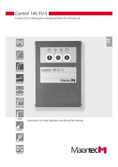 Marantec control 70 инструкция