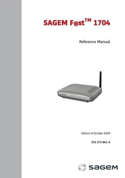 sagem f st 1704 support rh yumpu com Instruction Manual Example User Manual PDF