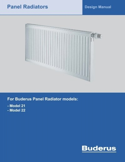 panel radiators fitch specialties rh yumpu com Home Radiator Design Radiator Design Calculation