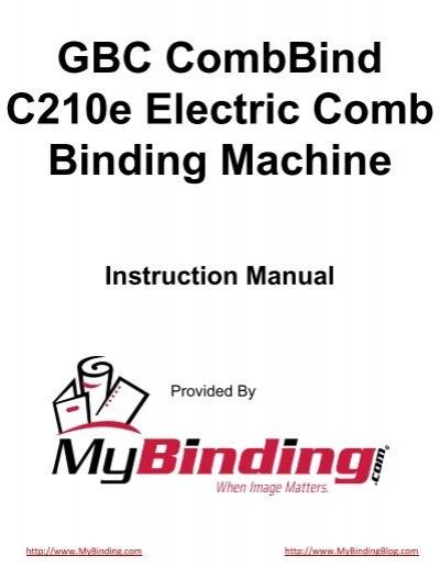 mybinding manual