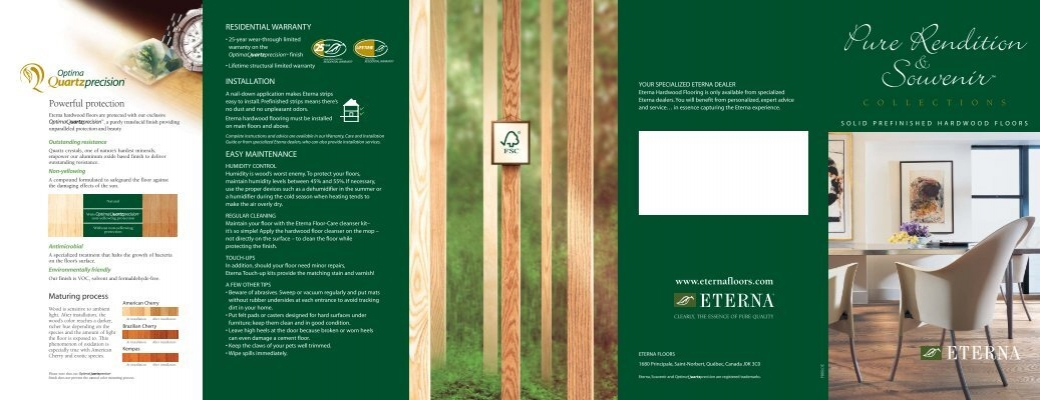 Eterna Hardwood Floors Are Protected With Our Exclusive - Eterna hardwood flooring