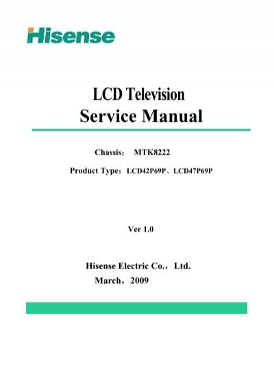 lcd television service manual chassis tv monitor service rh yumpu com samsung television service manual television service manuals free