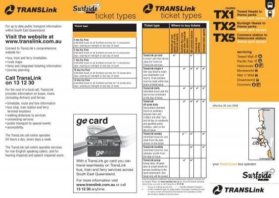 Translink 555 bus schedule-8259