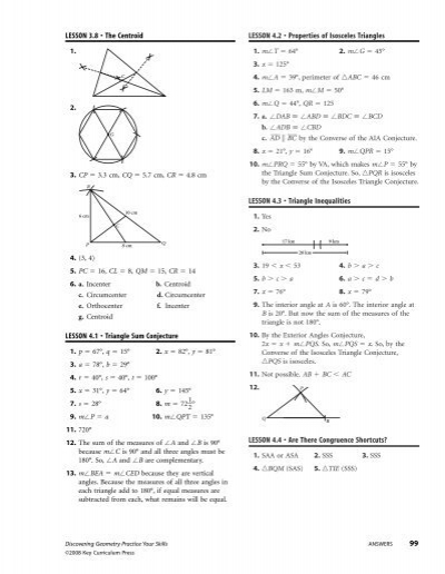 Printables Milliken Publishing Company Worksheet Answers special segments in triangles worksheet milliken publishing company answers intrepidpath
