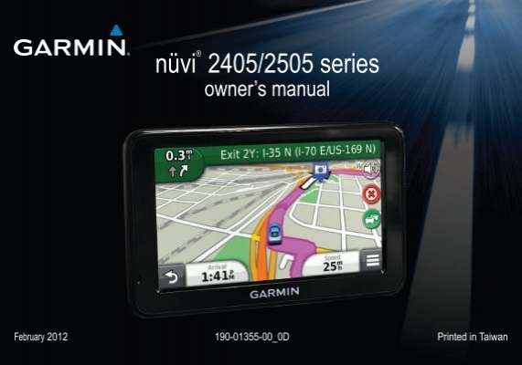 user manual garmin nuvi 265w my pdf manuals rh yumpu com Garmin Nuvi 1450LMT My Garmin Nuvi