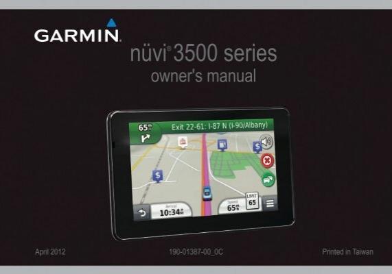 garmin nuvi 3500 series owner s manual rh yumpu com  garmin nuvi 2455lmt user manual