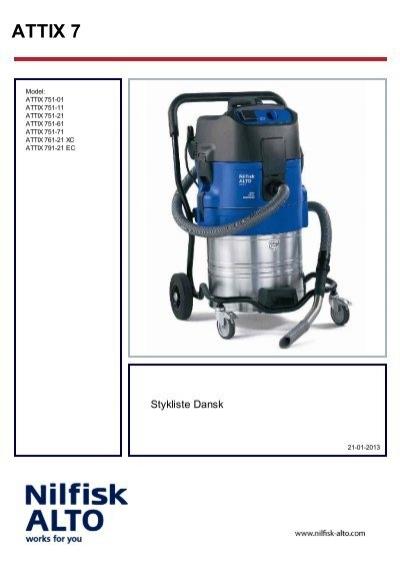 Staubsaugerfilter für WAP Attix 550-21 751-2M 590-21 751-21 751-11