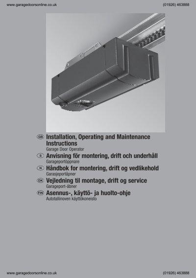 hurst promatic 2 installation instructions