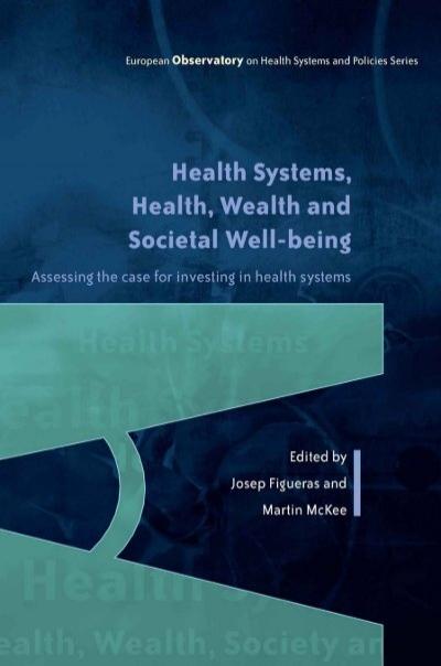 Health Wealth And Societal Well Being World Health Organization