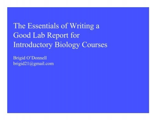 writing a good introduction for a lab report Top 5 to try how to write a good conclusion how to write a strong conclusion how to write introductions & conclusions for an essay.