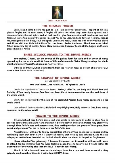 3 o clock prayer pdf