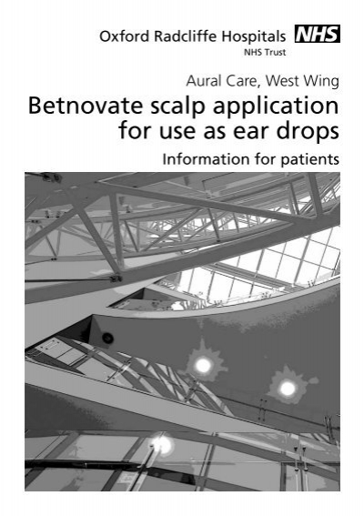 Betnovate Scalp Application Dosage