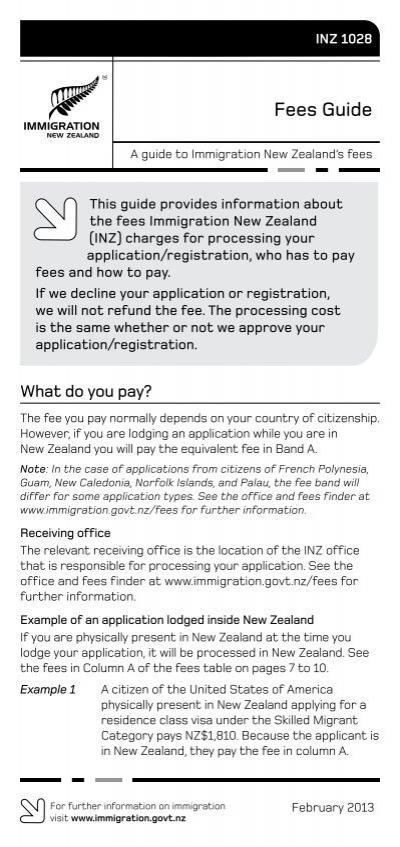 visitor visa application inz 1017 pdf