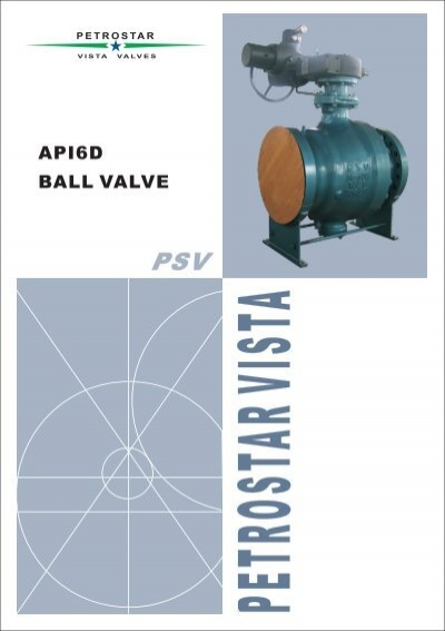 PSV Ball Valve - Petrostar Vista Valves
