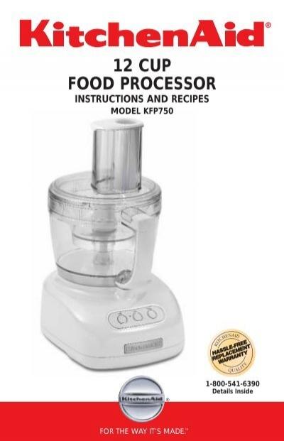 12 Cup Food Processor Kitchenaid