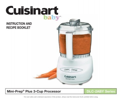 Instruction and recipe booklet mini prep plus cuisinart forumfinder Image collections