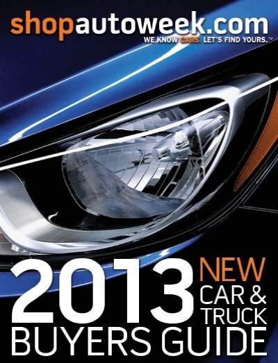 2013 new car truck buyers guide autoweek rh yumpu com Dave Edmunds Buyer's Guide
