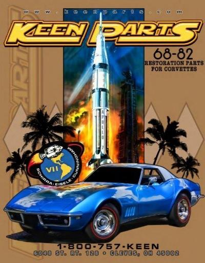 68-82 Corvette windshield reveal moulding clips 10 pcs