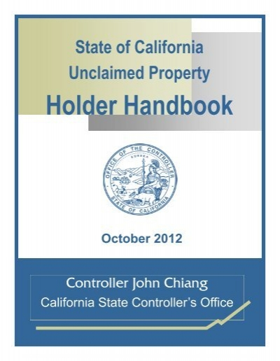 ca state controllers office unclaimed money
