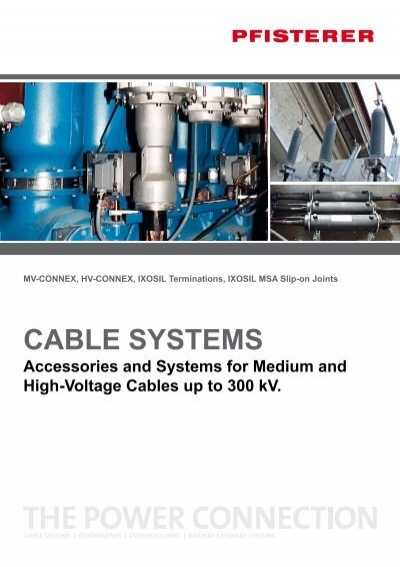 Cable Systems High Voltage Elektroskandia