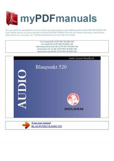 blaupunkt 520 user guide online user manual u2022 rh gooduserguide today blaupunkt daytona mp26 user guide blaupunkt tv user guide
