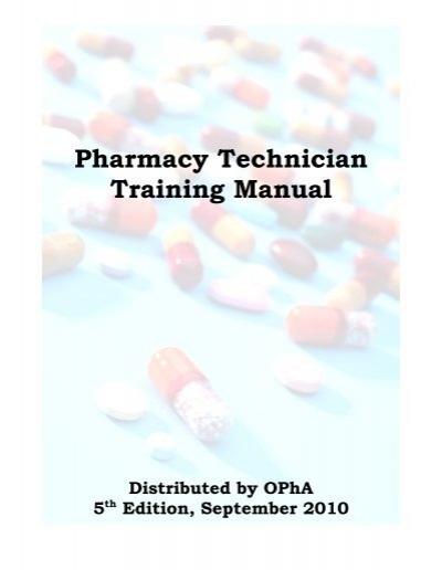 pharmacy technician training manual oklahoma pharmacists rh yumpu com pharmacy tech training manual pharmacy technician training manual free download