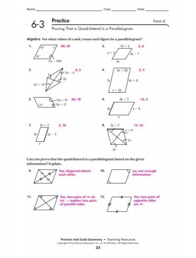 Printables Properties Of Parallelograms Worksheet properties of parallelograms worksheet intrepidpath with answers worksheets